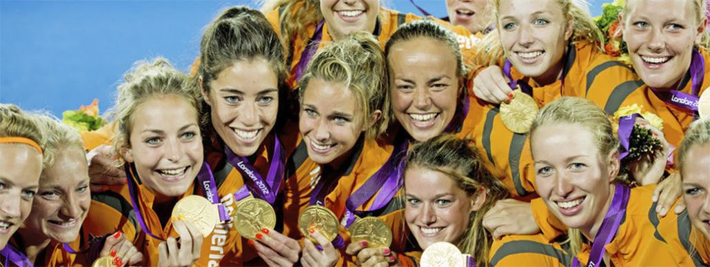 Teamcoahing - hockeyvrouwen olympisch kampioen